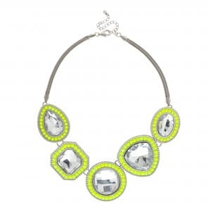 Butterfly by Matthew Williamson Fluorescent Necklace 40