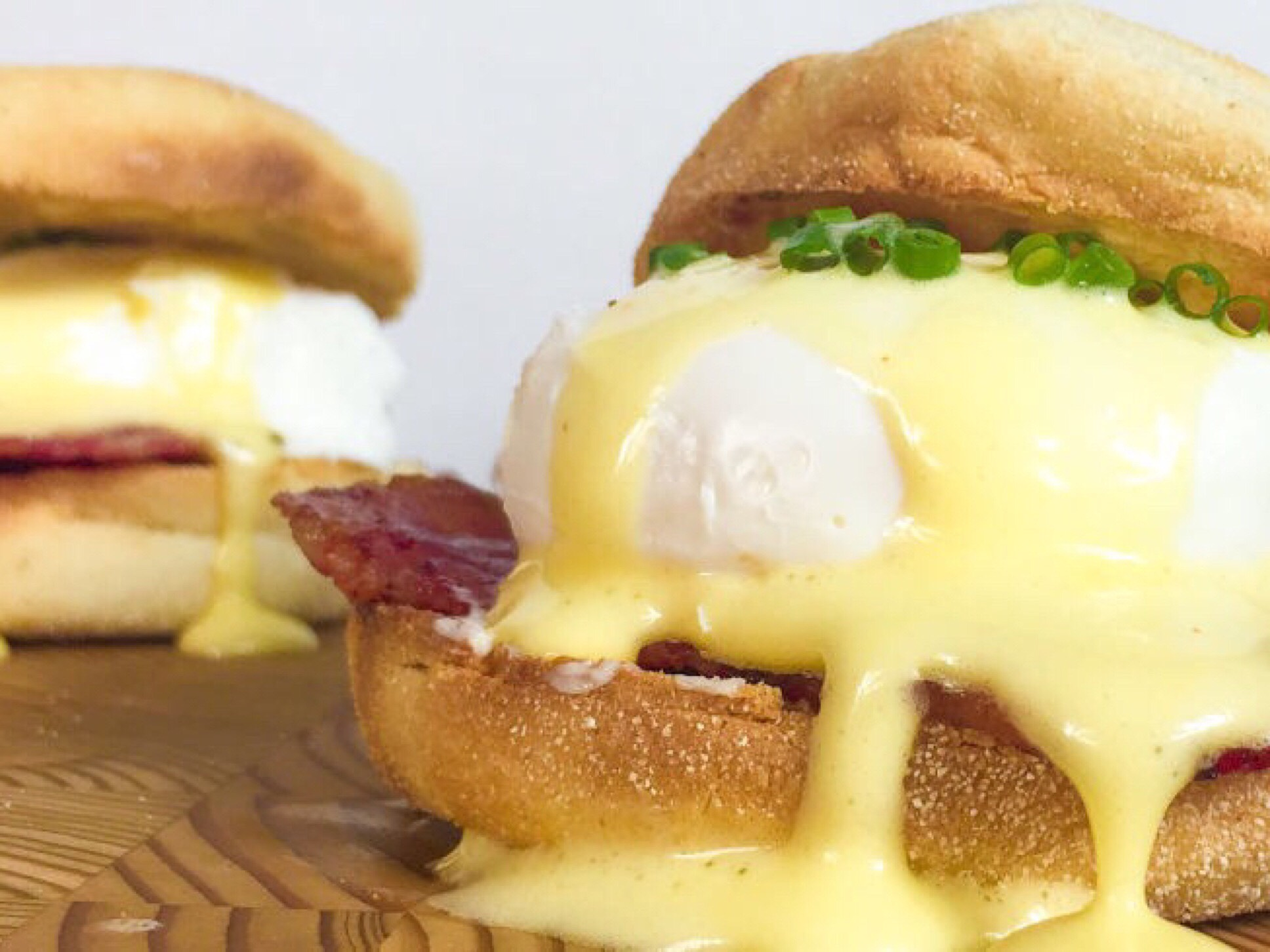 Eggs Benedict  - Breakfast in Bed