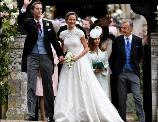 Mandatory Credit: Photo by REX/Shutterstock (8825078h) James Matthews and Pippa Middleton Wedding of James Matthews and Pippa Middleton, St Mark's Church, Englefield, UK - 20 May 2017