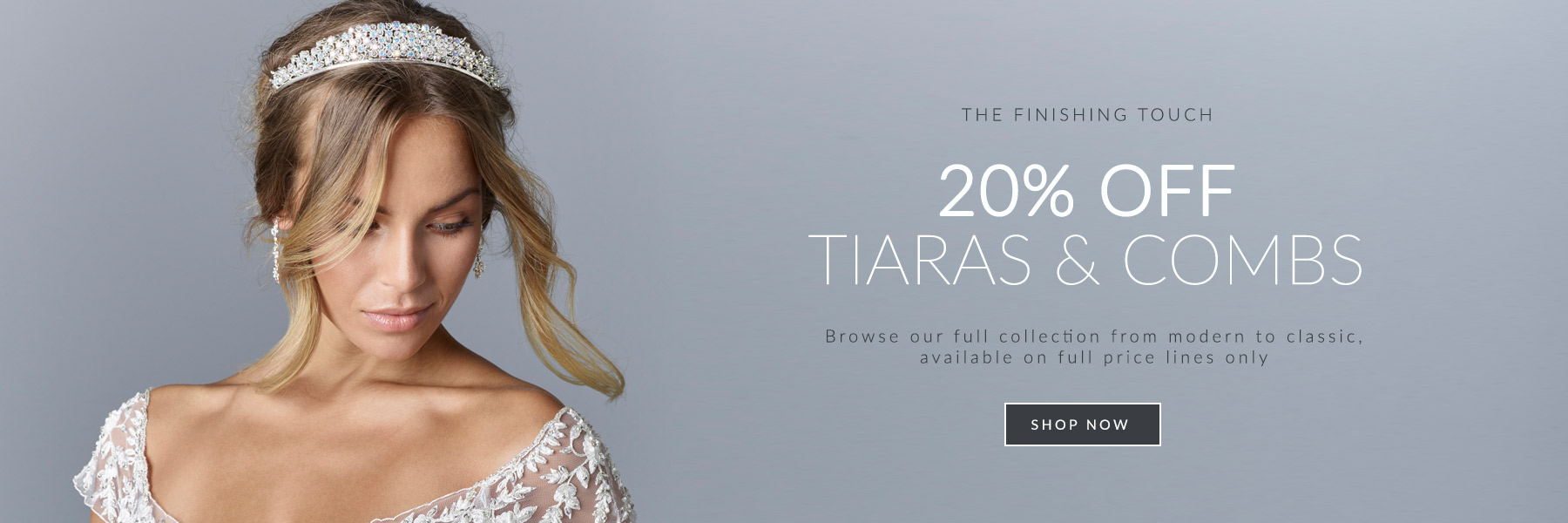 Bridal Tiara and Hair Accessory Sale