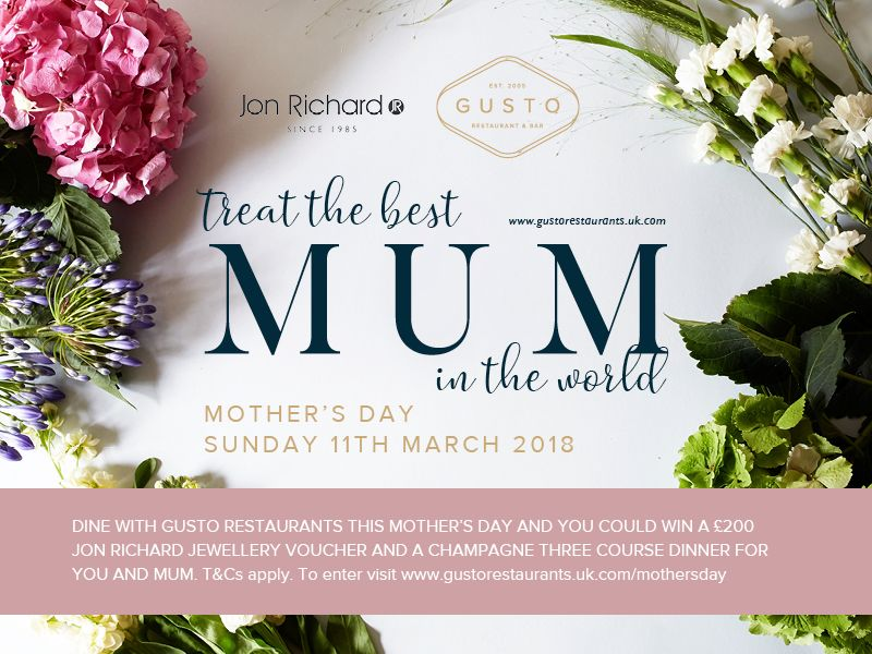 Mother S Day Competition In Collaboration With Gusto