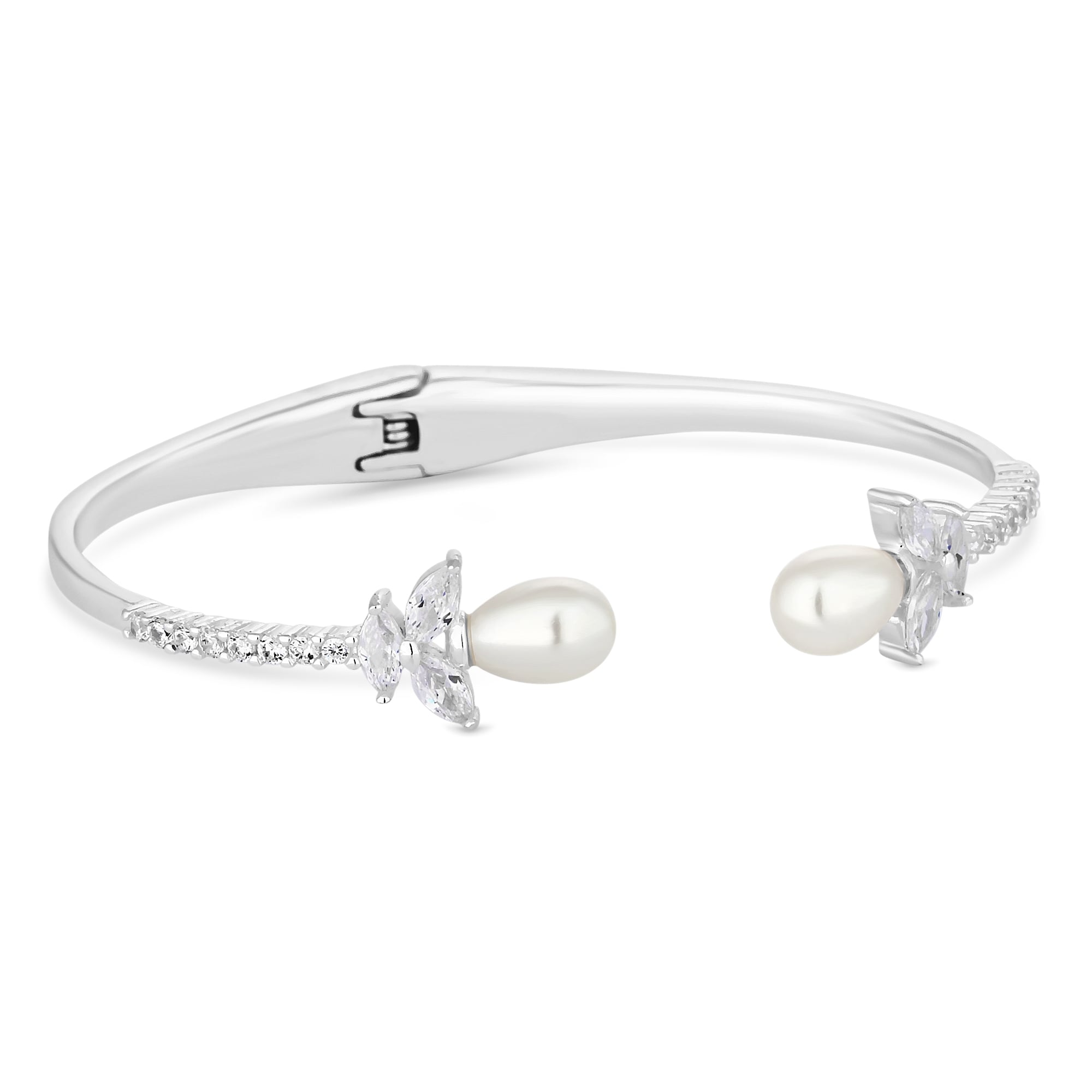 bangle jewellery bangles cuff pearl magnolia hannah bracelets zoom devoted cubic zirconia alan silver and