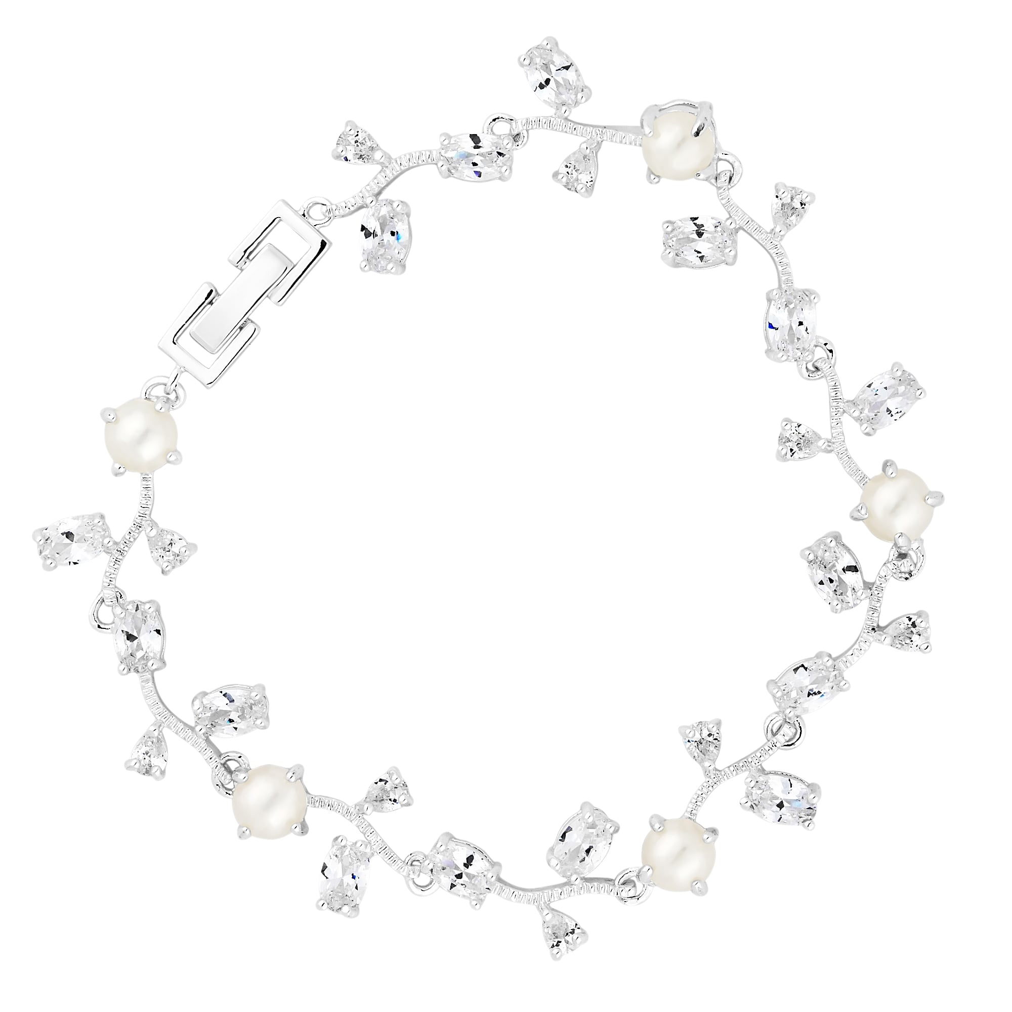 silver in double tennis cubic a image sterling bracelet zirconia jewellers grahams row