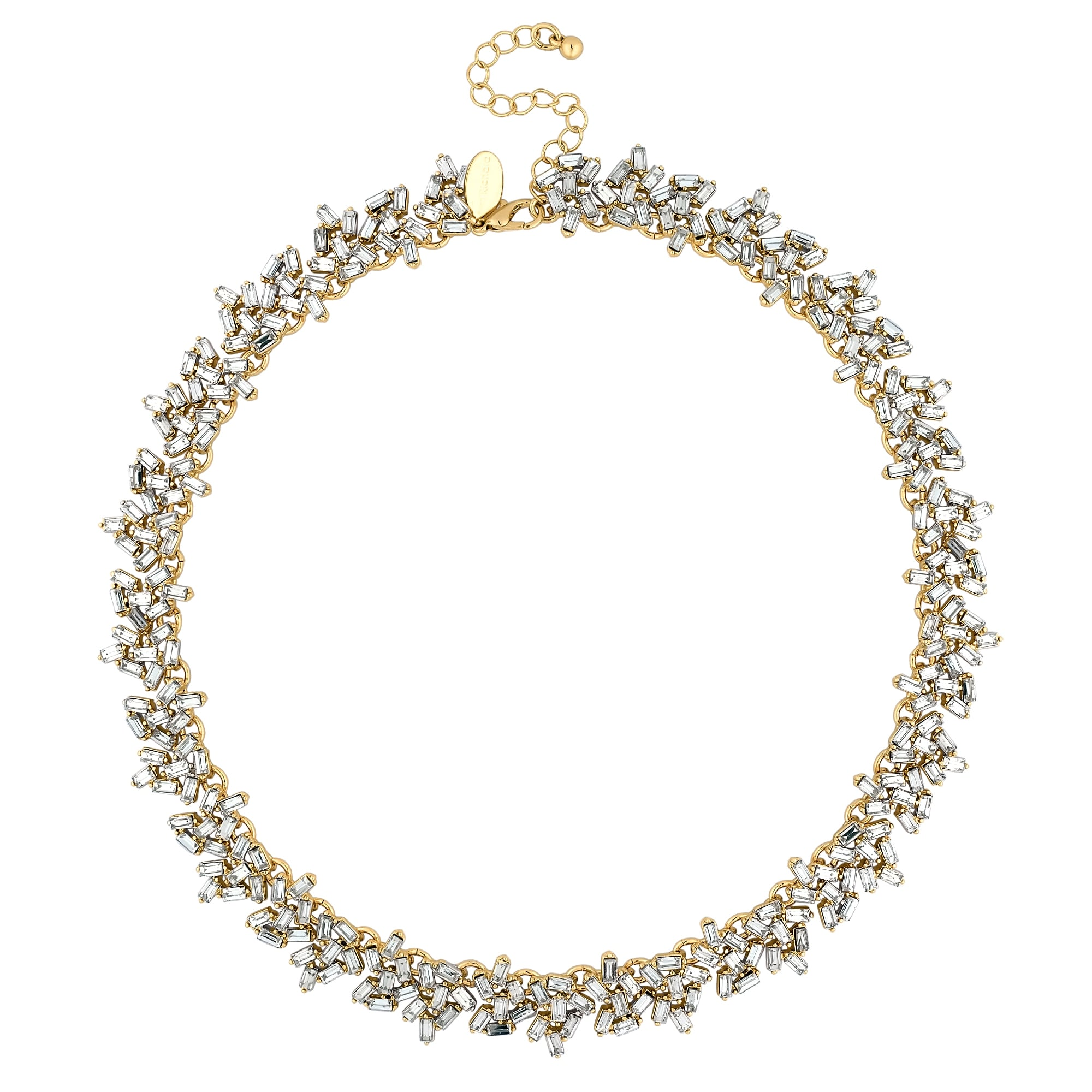 Jon Richard Crystal cluster statement necklace