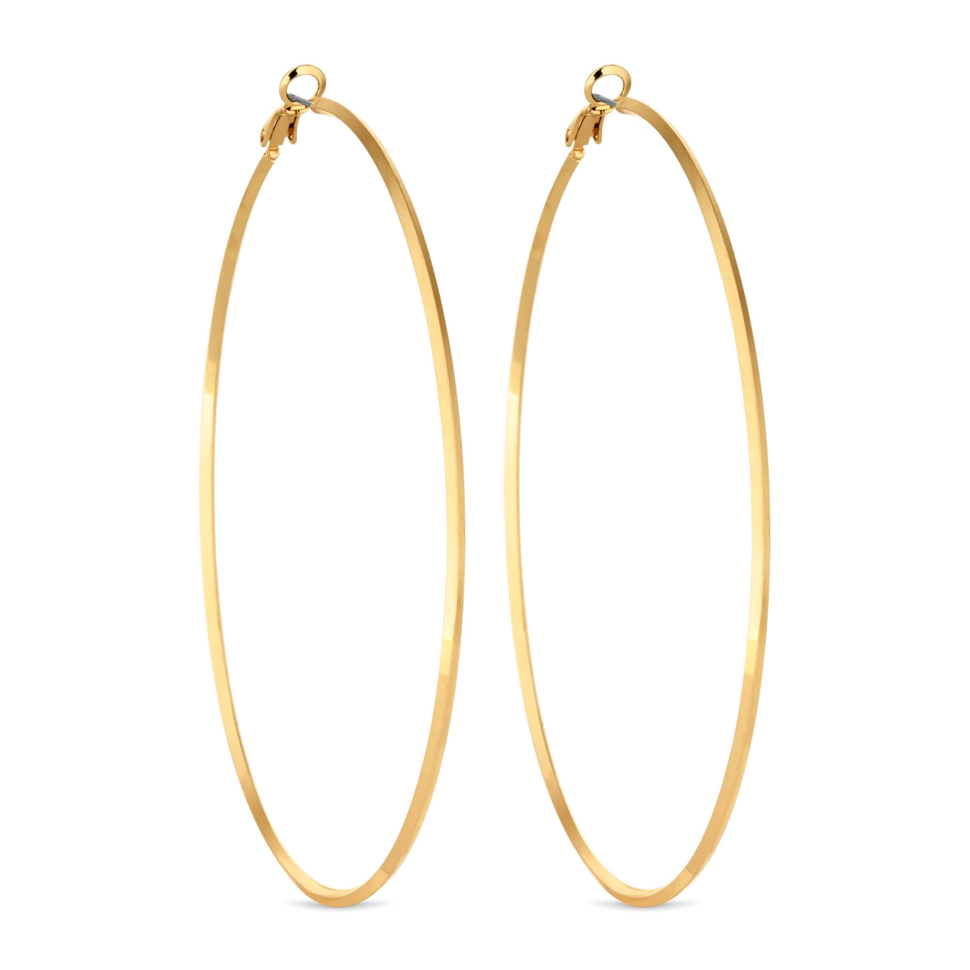 hoop earrings wm indian gold jewellery
