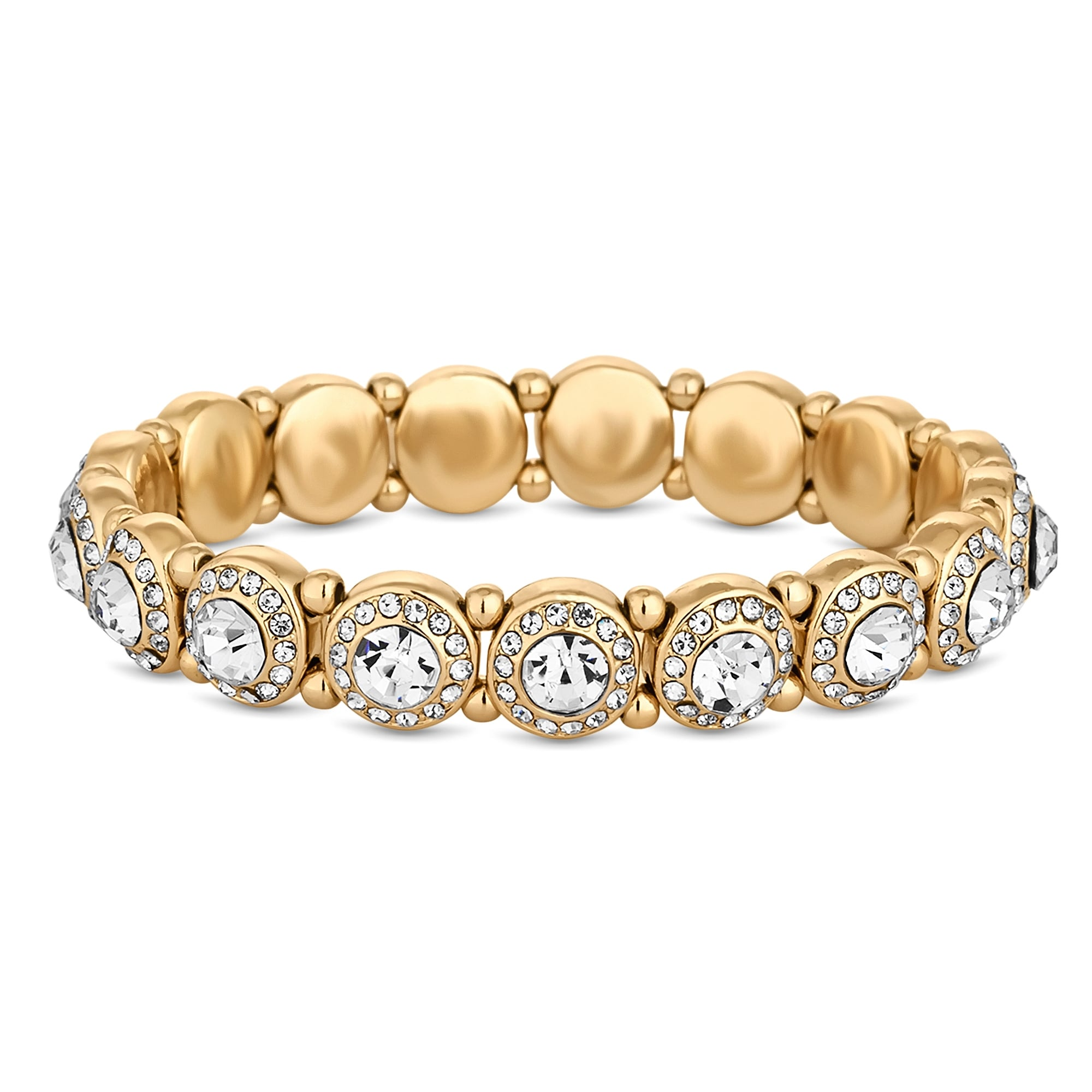 gold filled rose stretch women bracelet com