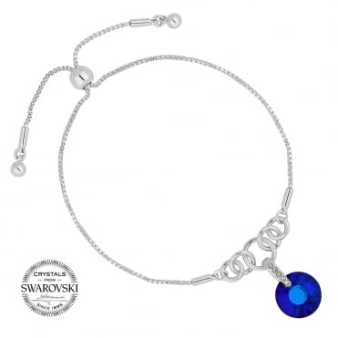 Bermuda blue toggle bracelet