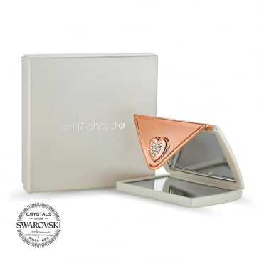 Cream envelope compact