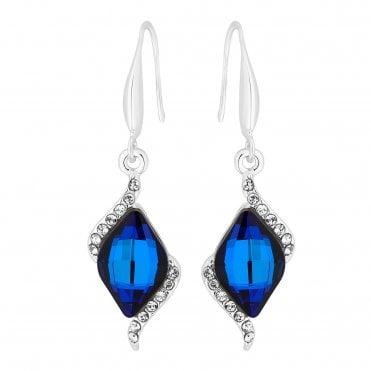 bc416e080 Colour: Blue Jon Richard made with Swarovski® crystals Earrings
