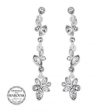 Sophia botanical drop earring