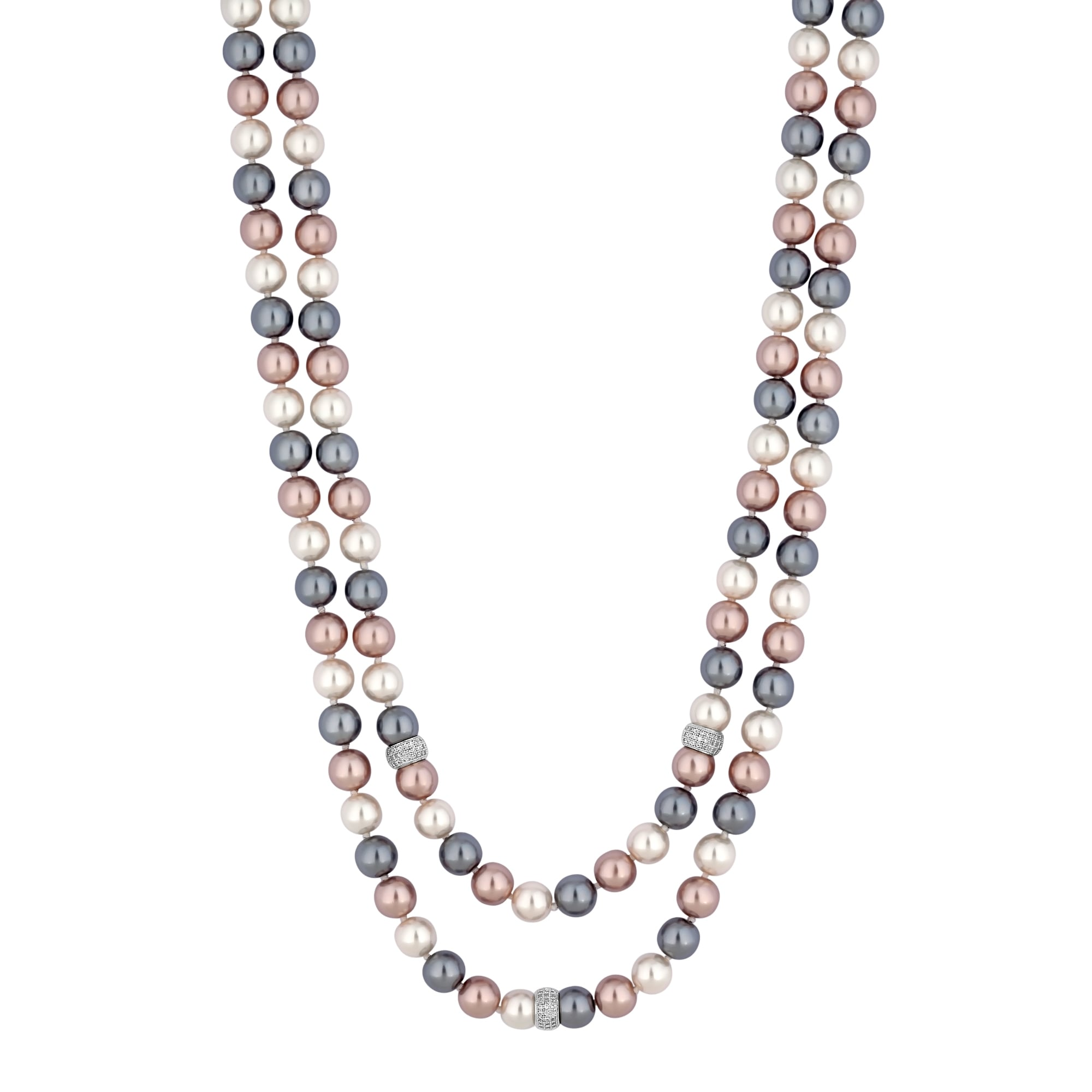 london reinventing minimalist jewellery neesha row necklace multi orelia