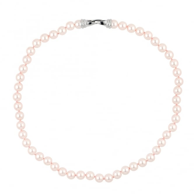 Pearl Flat Clasp Necklace