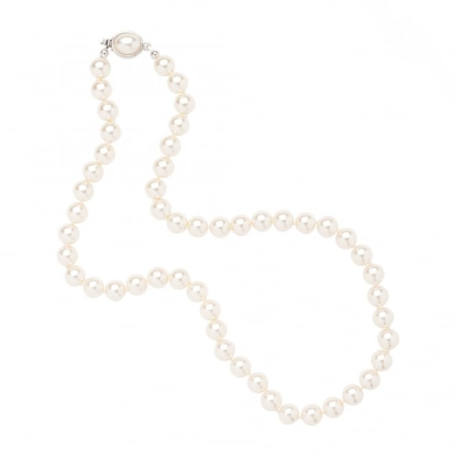 Jon Richard Pearl Necklace Oval Clasp