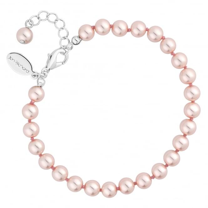 Pink pearl bracelet