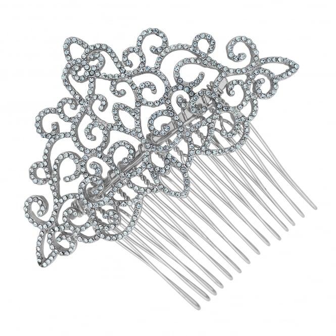 Rosalia filigree hair slide