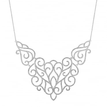 Rosalia filigree necklace