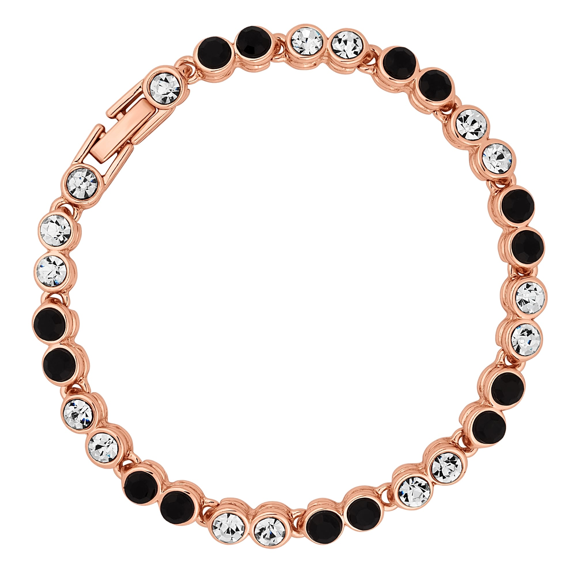 of double oyster gallery products the anklet bubble collections row bracelets bay chain tennis bracelet jewelry