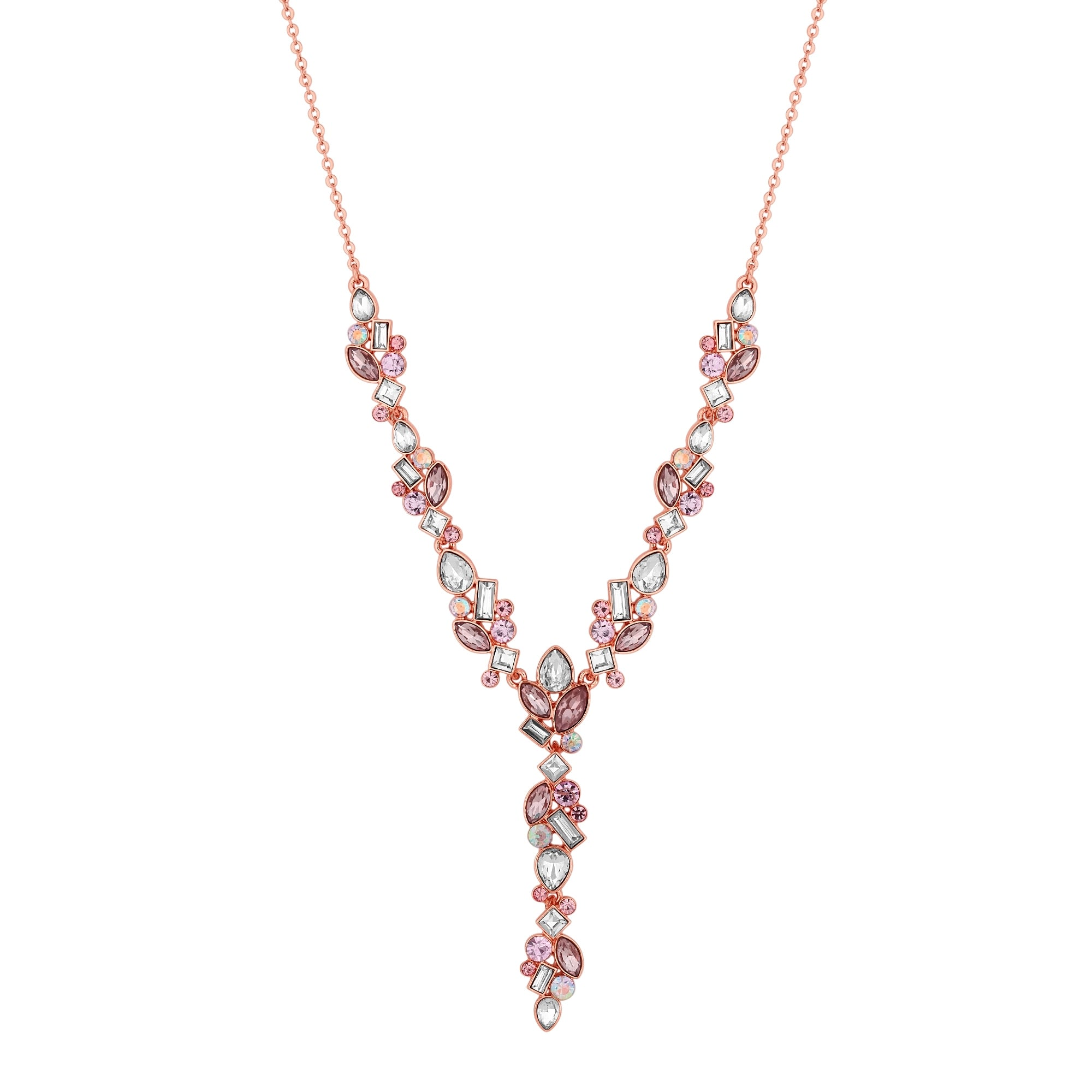 collection necklace the pendant pamper heart crystal crystall pink product and clear