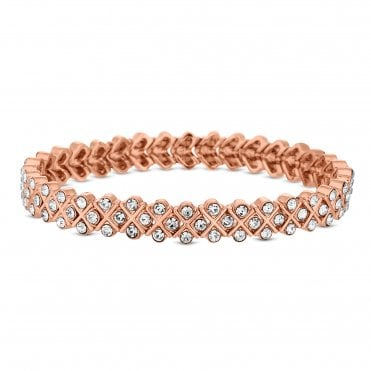 6a266e07545e3 Add a modern touch with rose gold plated bracelets and bangles