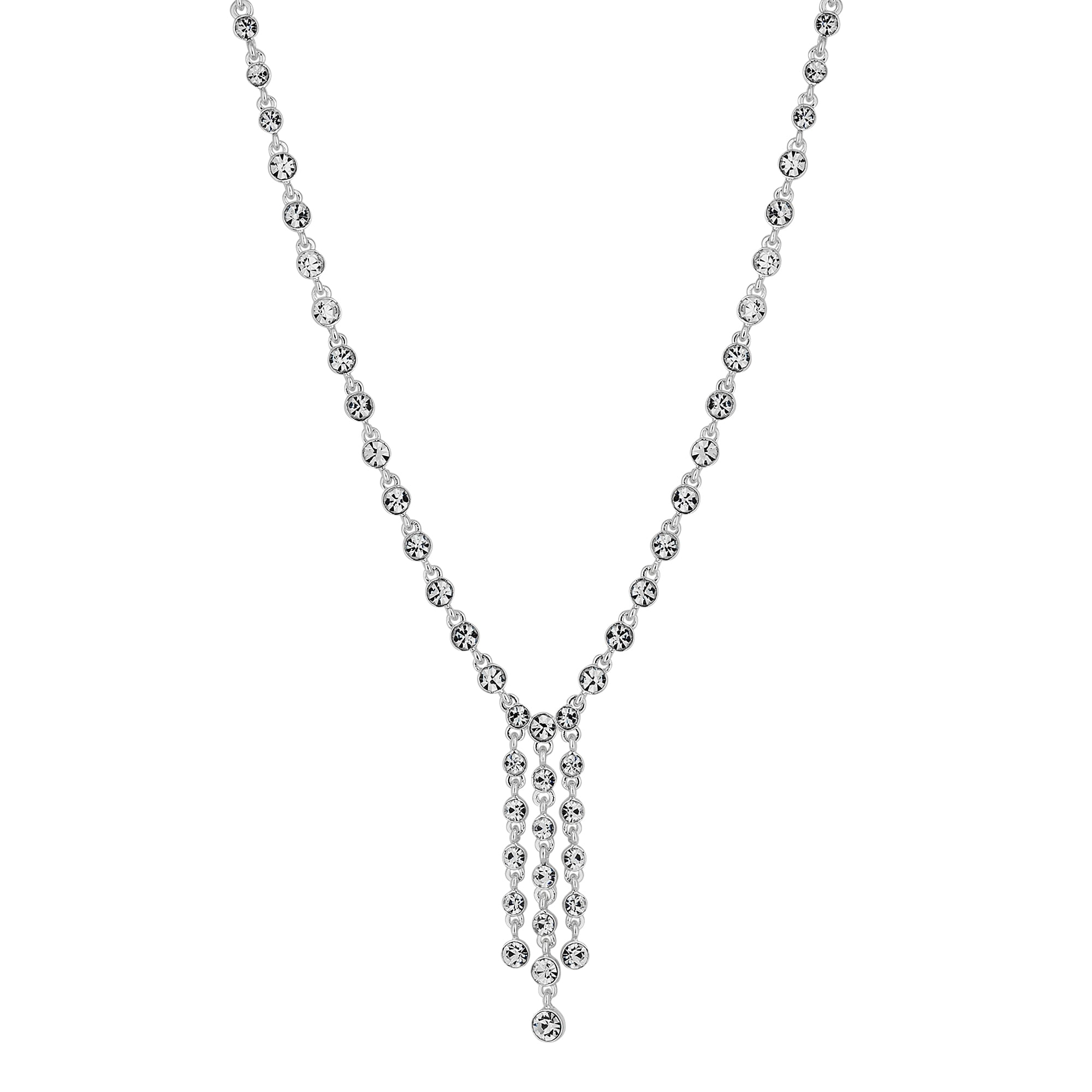 droplet abbott silver necklace products lyon