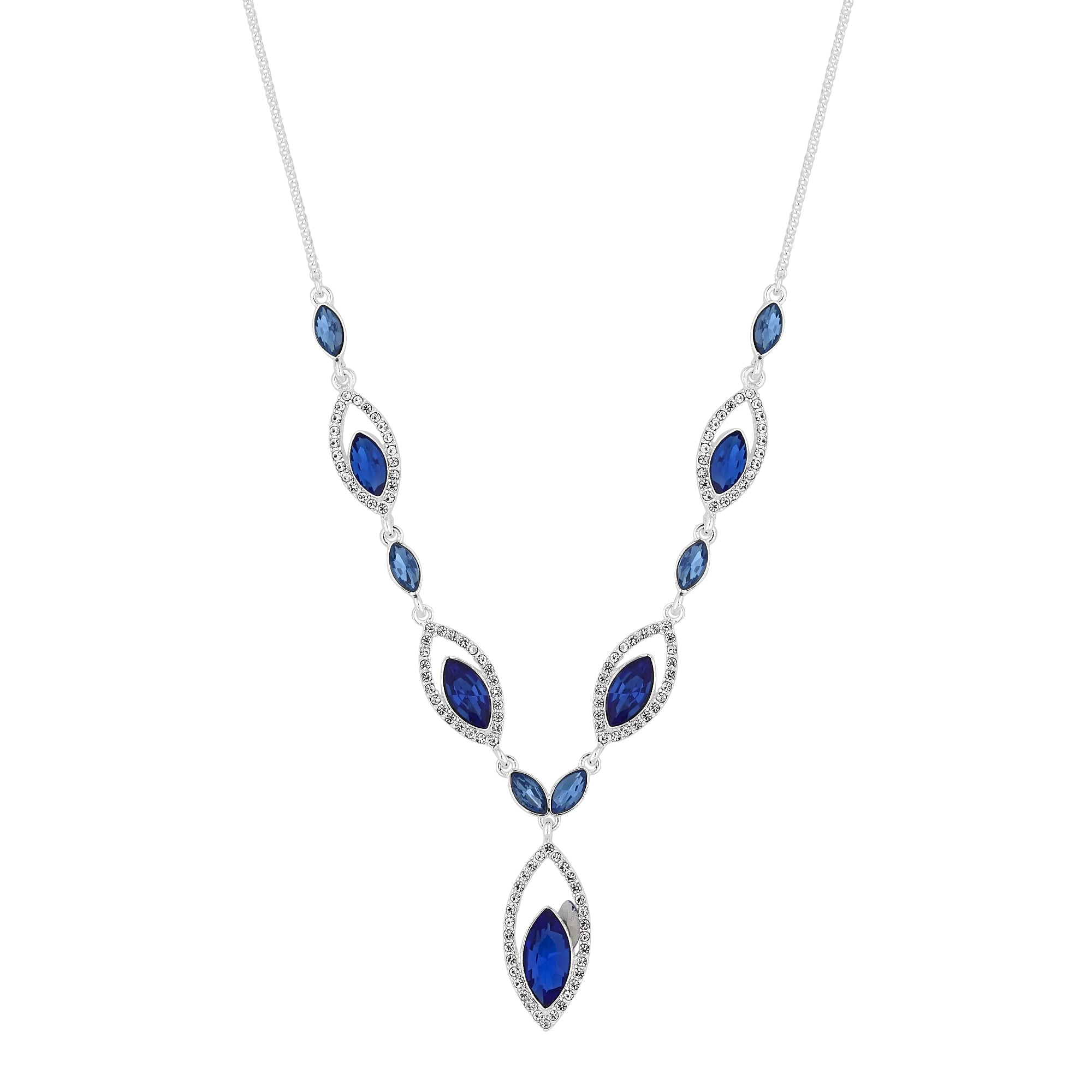 original blue necklace cobalt storenvy products on