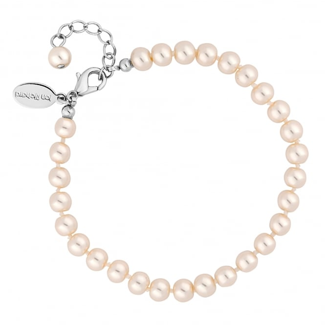 Jon Richard Silver Plated Cream Pearl Bracelet