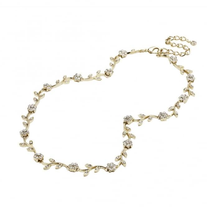 Vine Crystal Allway Necklace