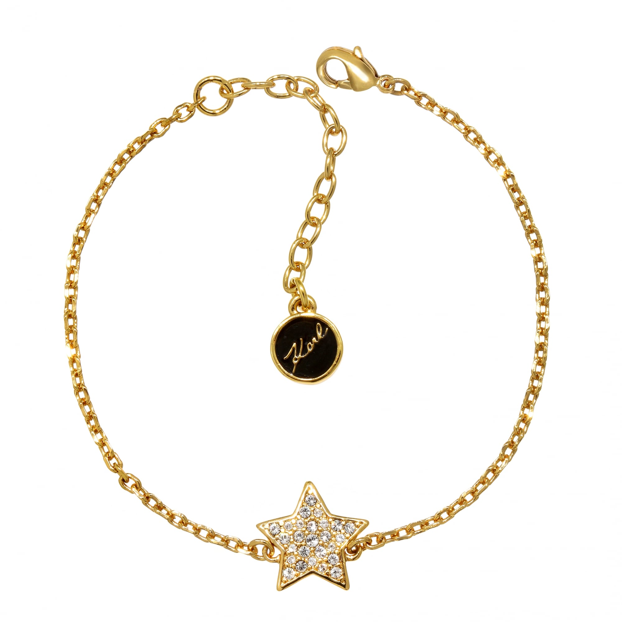 Karl Lagerfeld Gold Pave Star Bracelet Created With Swarovski® Crystals 6eaa7aef1