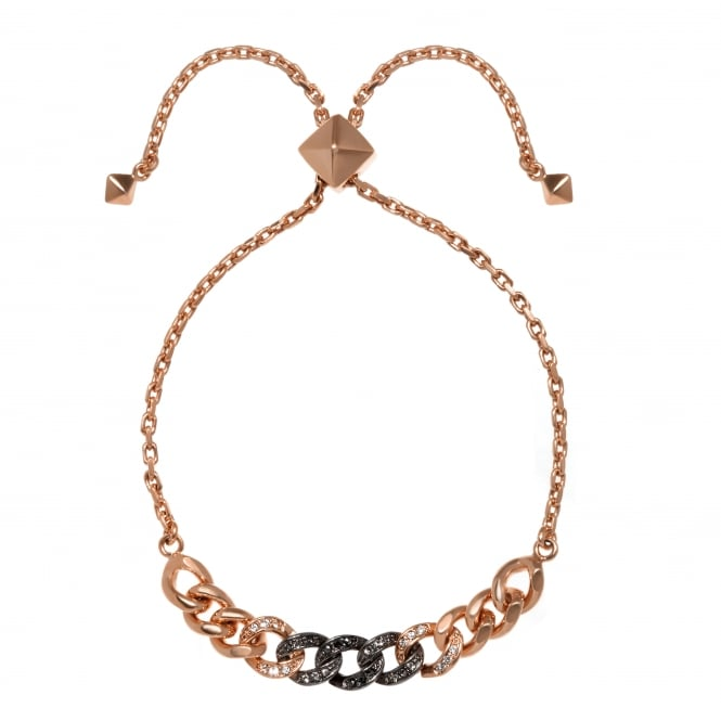 Karl Lagerfeld Ombre chain bracelet created with Swarovski crystals