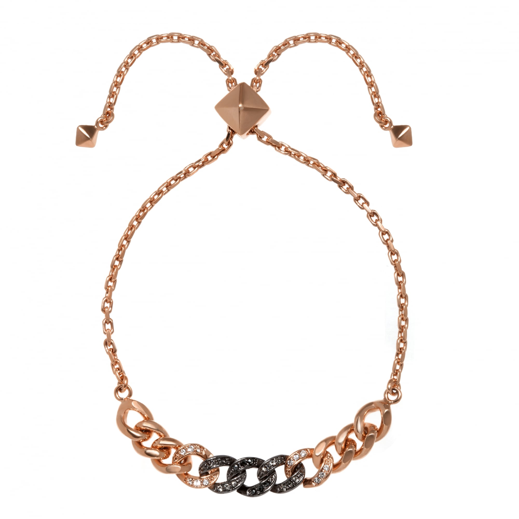 9c5bcda2536a Karl Lagerfeld Ombre Chain Bracelet Created with Swarovski Crystals