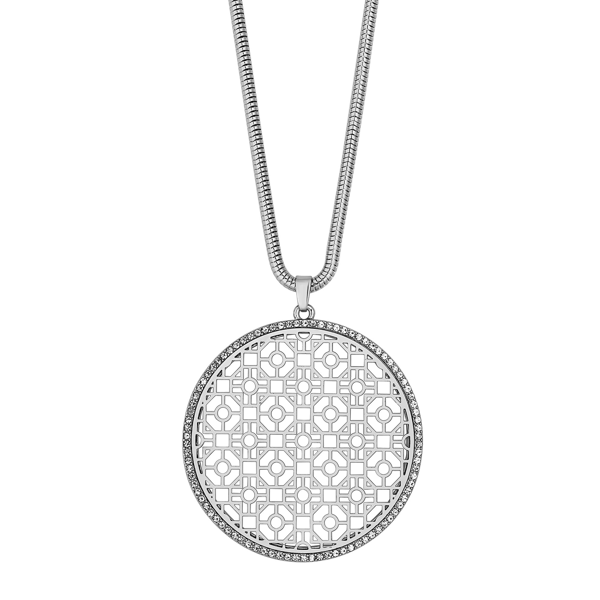 hand free on overstock silver jewelry today sterling of eye product fatima pendant box necklace large shipping hamsa chain watches inch
