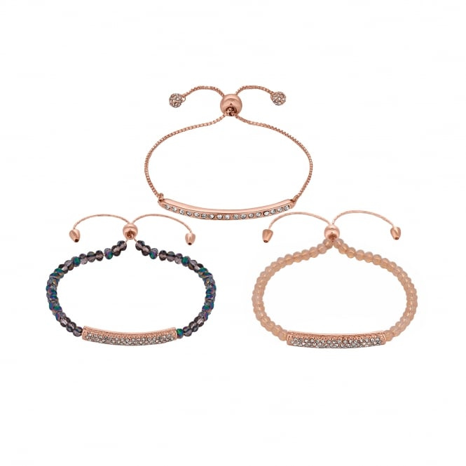 Jon Richard Beaded Toggle Bracelet Pack