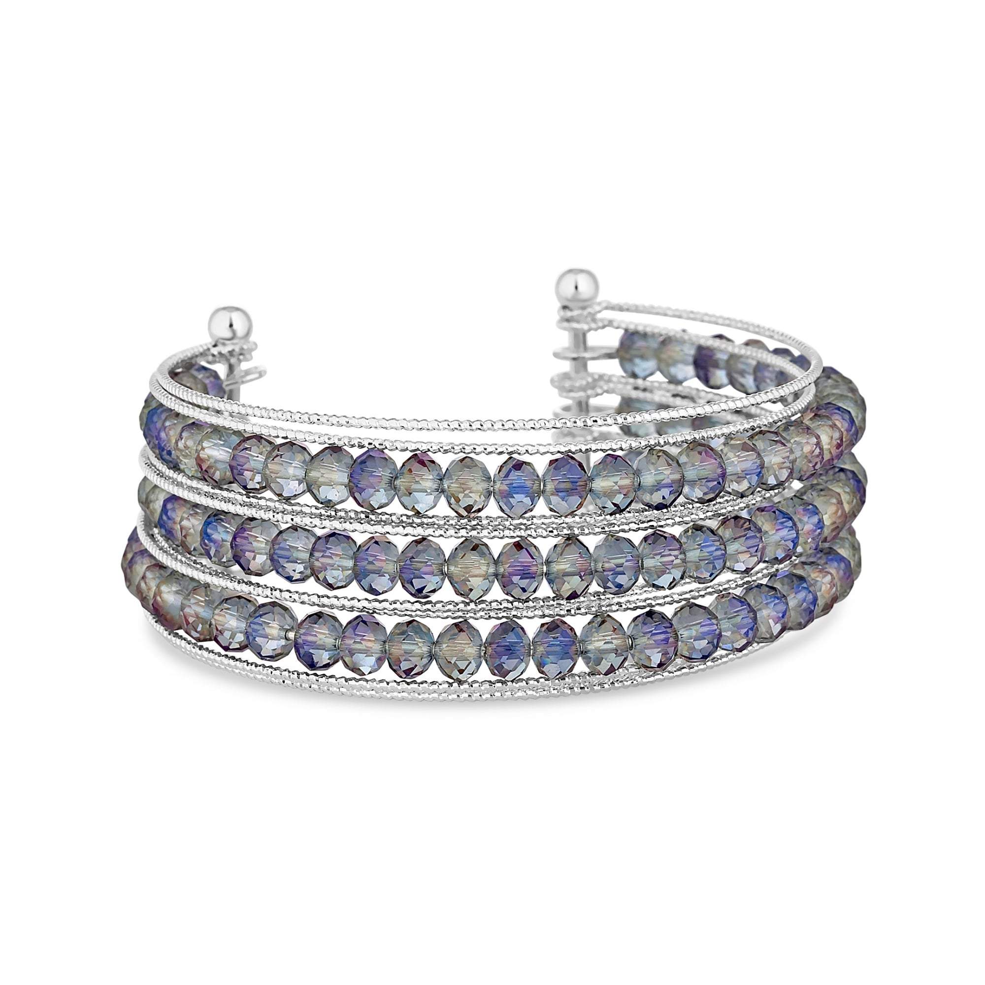 bangle embellished with swarovski jon pearl sale zoom richard made bangles crystals silver cuff crystal and