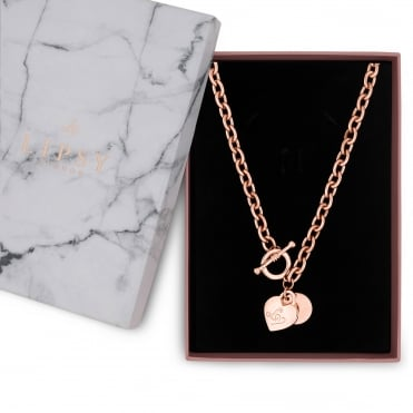 Heart Charm Gift Necklace