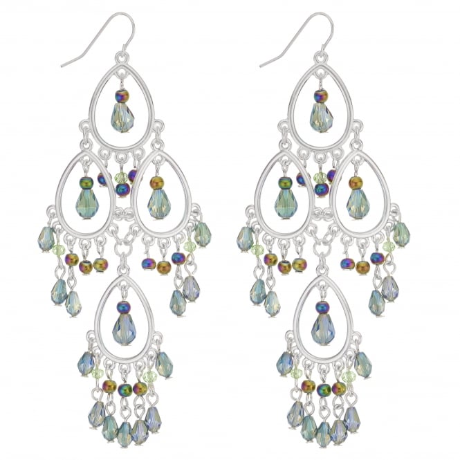MOOD By Jon Richard Beaded statement earring