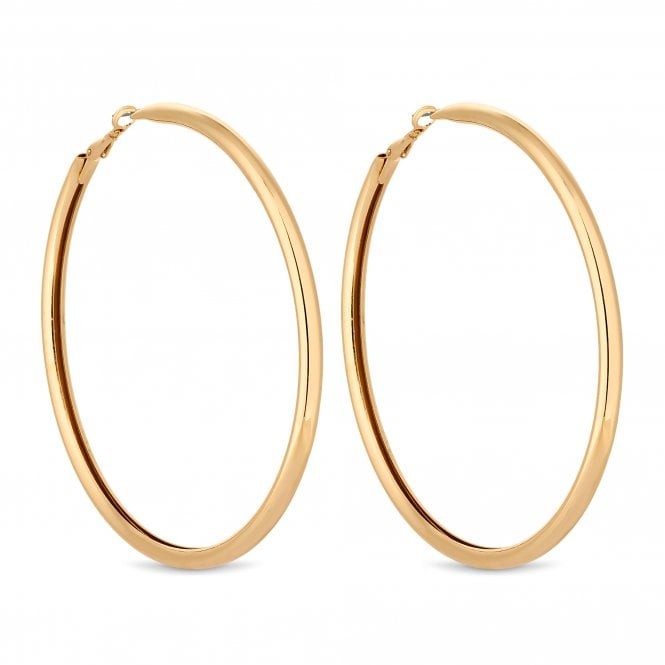 Gold Oversized Hoop Earring
