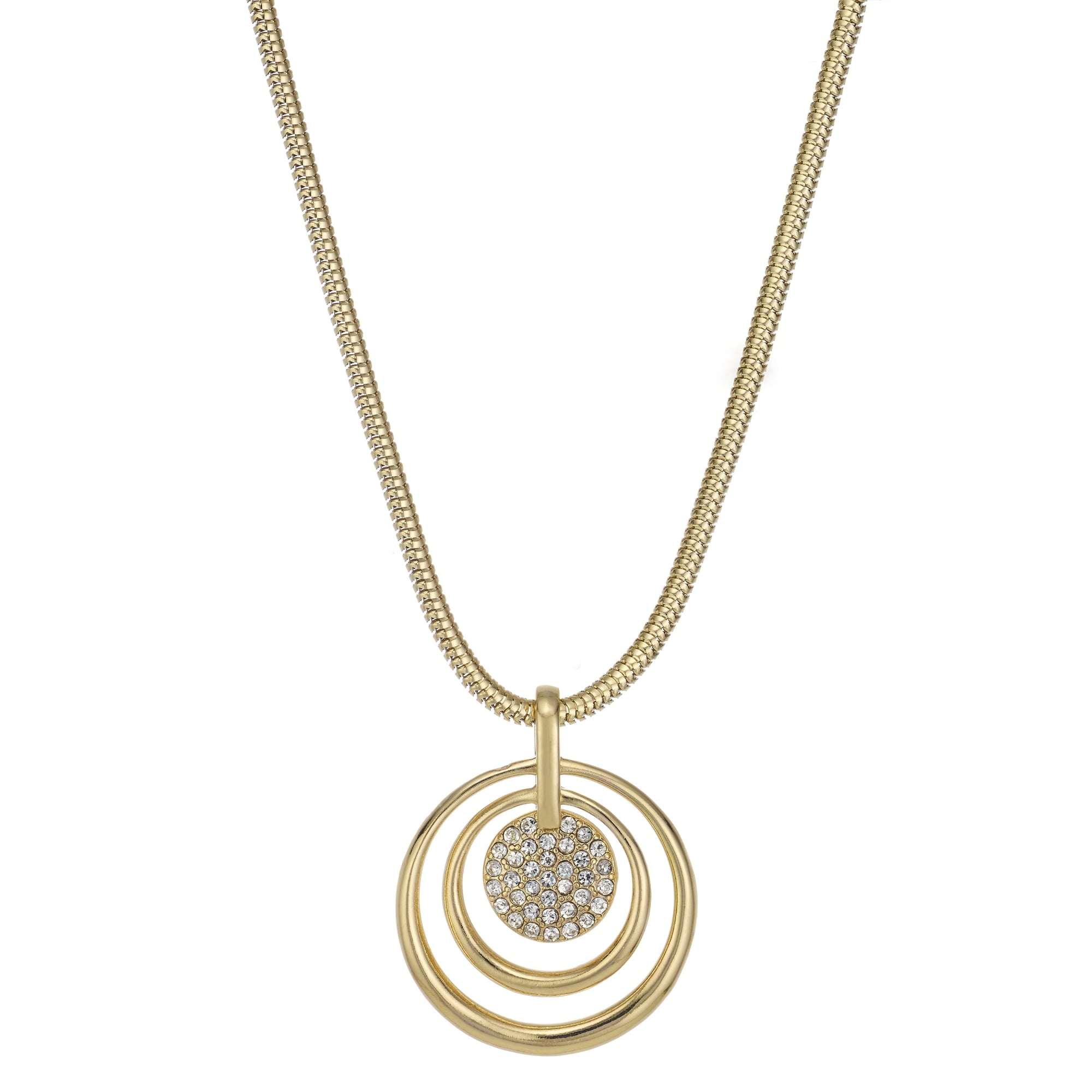 disk in gold blank white tcw diamond curb dangle necklace chain pendant