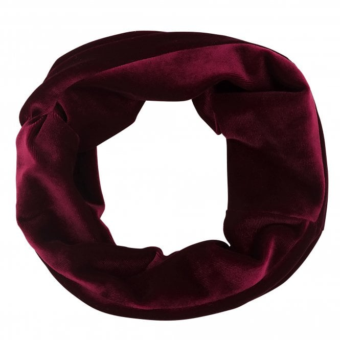 Red Velvet Knot Front Headband