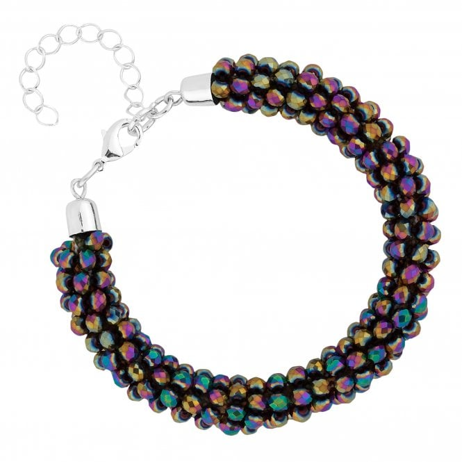 Multi Colour Beaded Bracelet