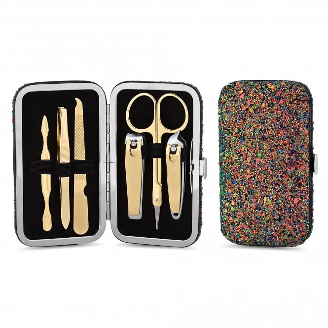 Multi Colour Glitter Manicure Set