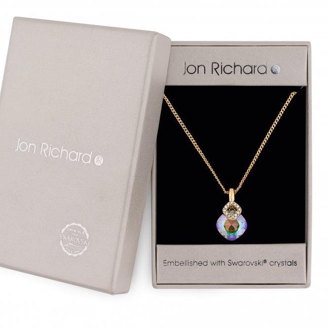 Paradise Shine Pendant Necklace Embellished With Swarovski Crystals