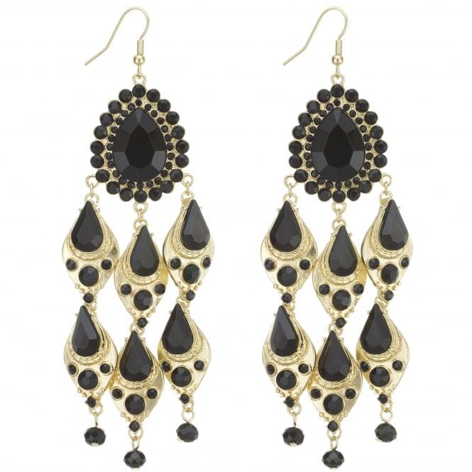 Peardrop chandelier earring