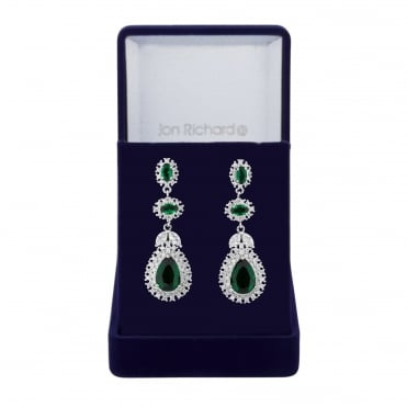 Peardrop statement earring