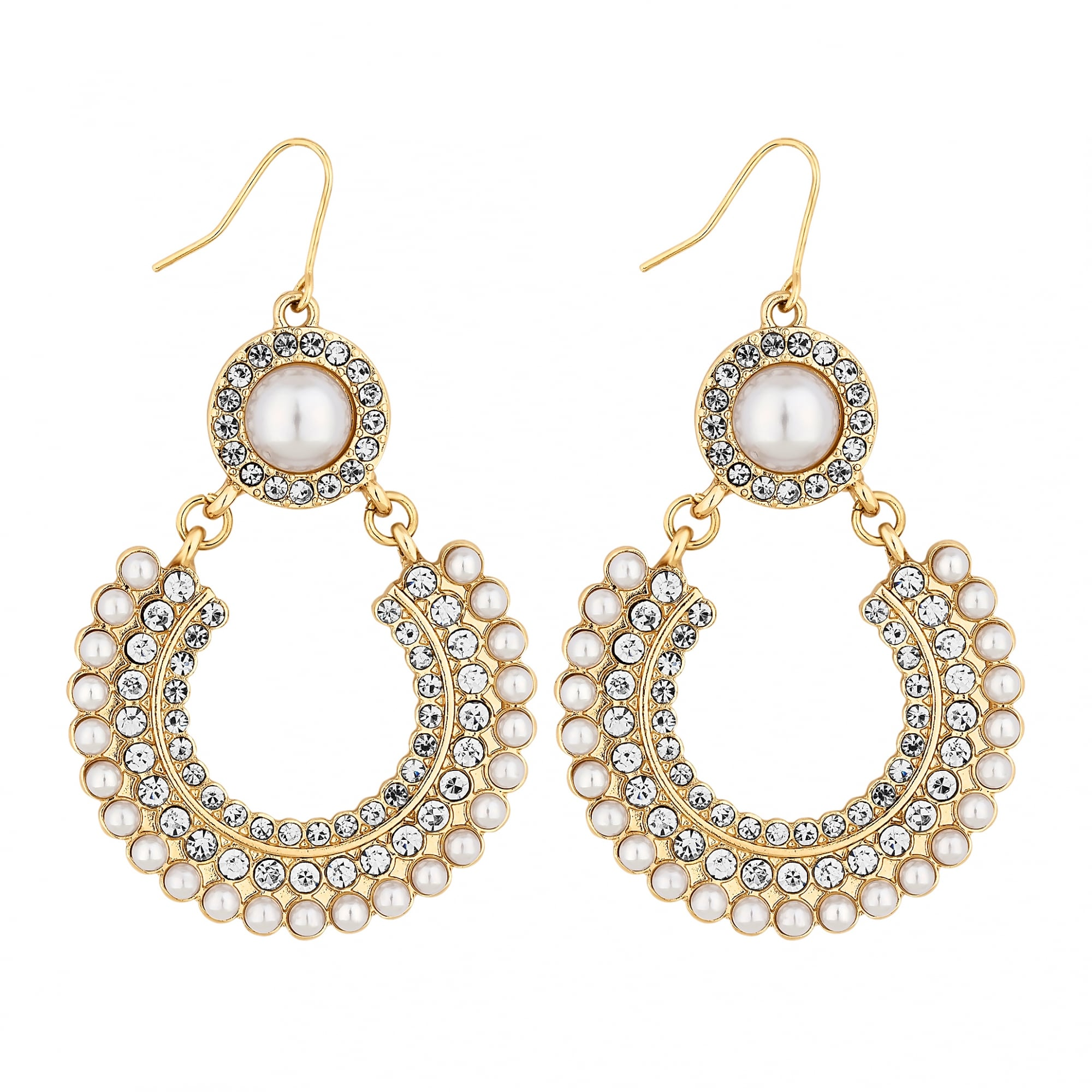 p aaa round mm on asp pearl pearls earrings gold leverbacks