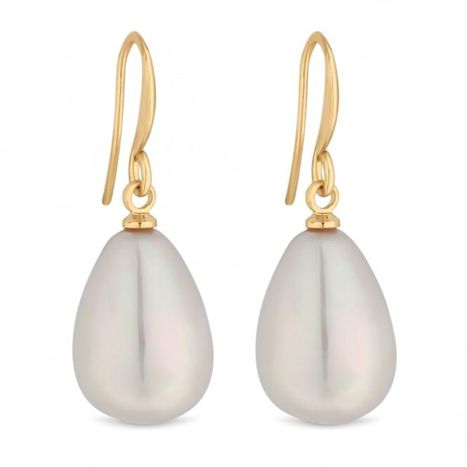 Pearl droplet earring