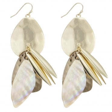 Shell cluster statement earring