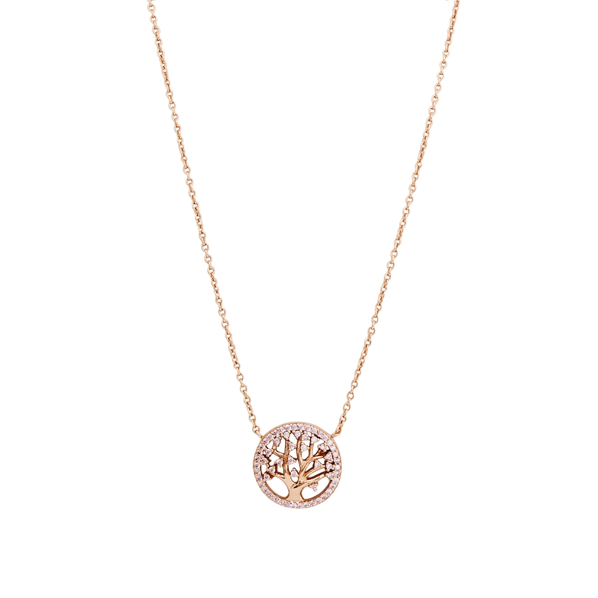 BellaMira Tree of Life Silver 18K Gold 14K Rose Gold Plated Necklace Jewellery i