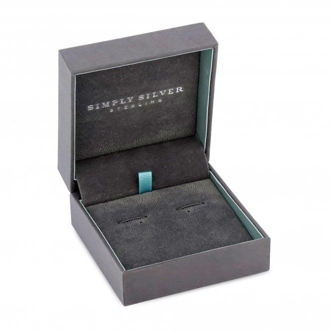 Simply Silver Grey Faux Suede Interior Gift Box