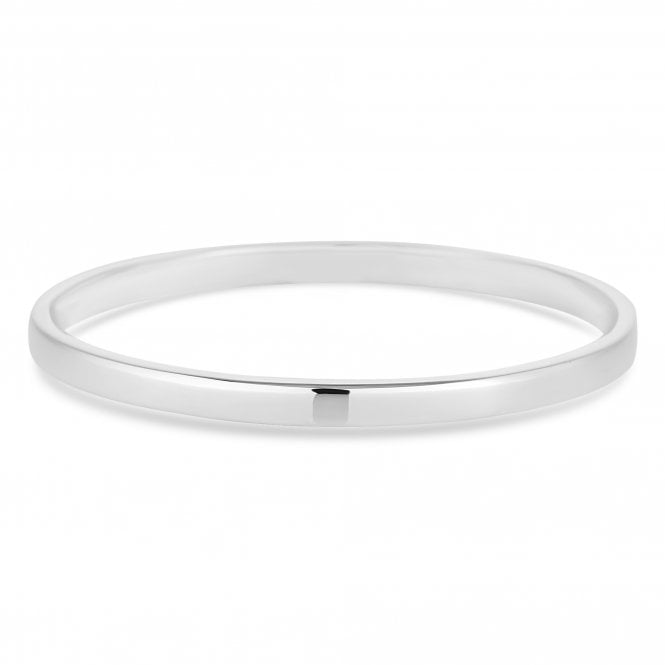 Sterling Silver 925 Classic Bangle