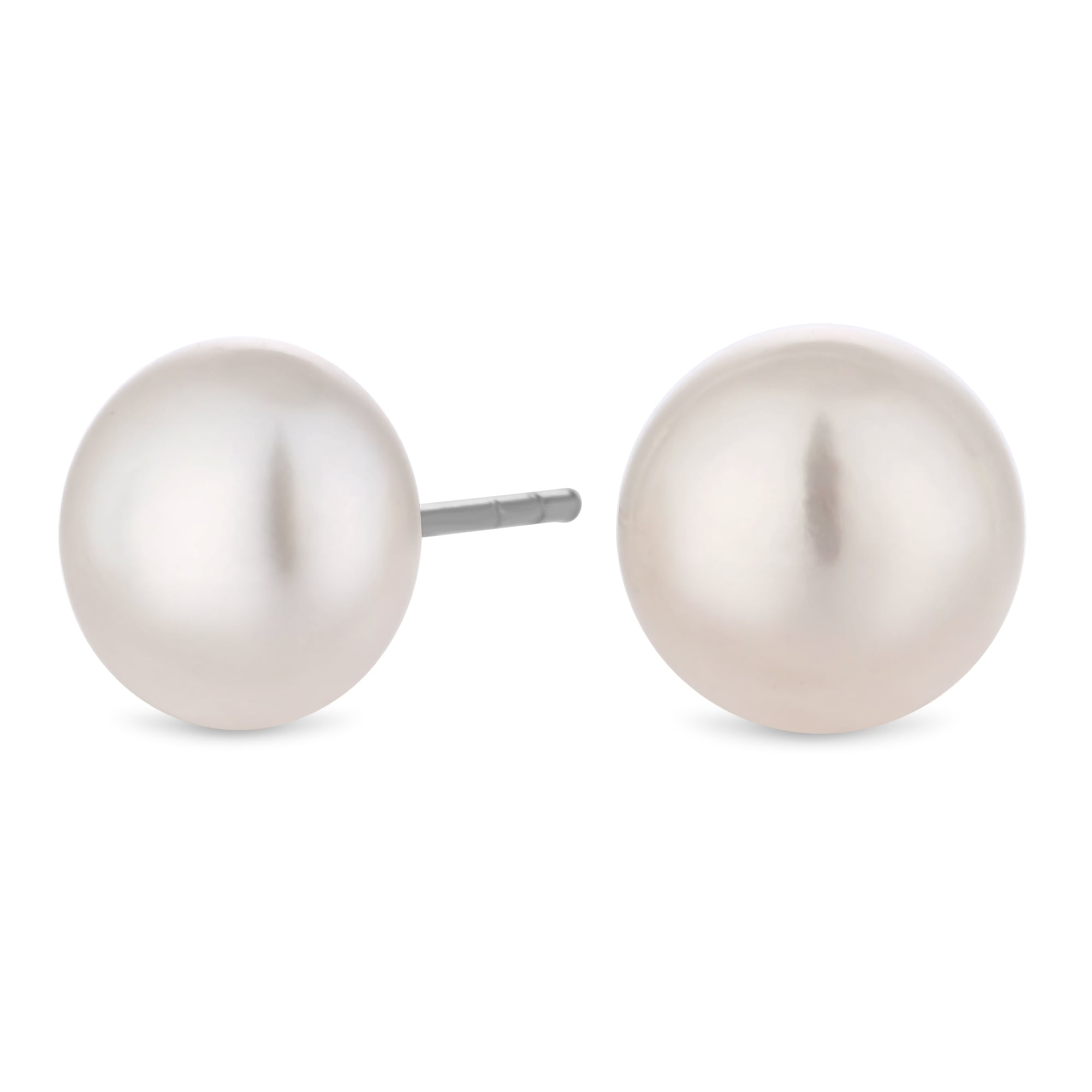 Sterling Silver 925 Freshwater Pearl Stud Earring